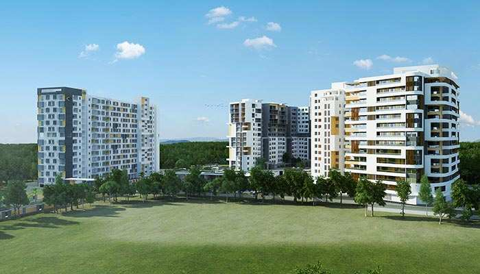 3 BHK Flats & Apartments for Sale in Ecr, Chennai - 1655 Sq. Feet