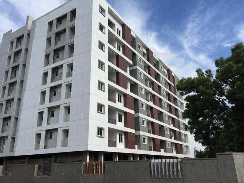 3 BHK Flats & Apartments for Sale in Mogappair East, Chennai - 1490 Sq. Feet