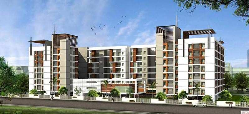3 BHK Flats & Apartments for Sale in Mogappair East, Chennai - 1285 Sq. Feet