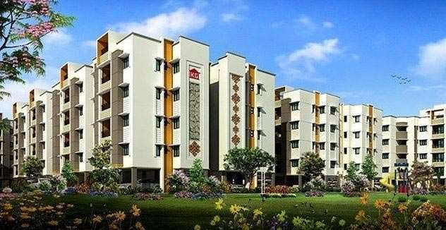 2 BHK Flats & Apartments for Sale in Perumbakkam, Chennai - 1010 Sq. Feet