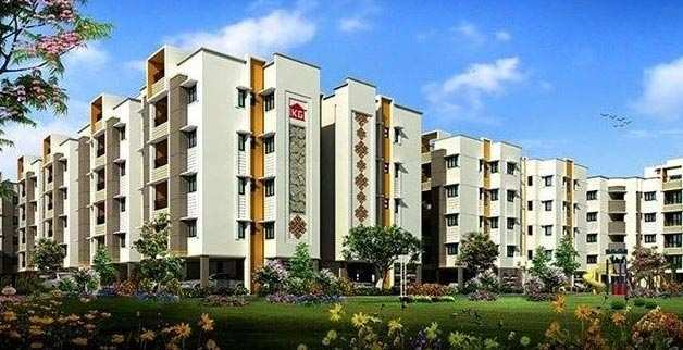 3 BHK Flats & Apartments for Sale in Perubakkam, Chennai - 1265 Sq.ft.