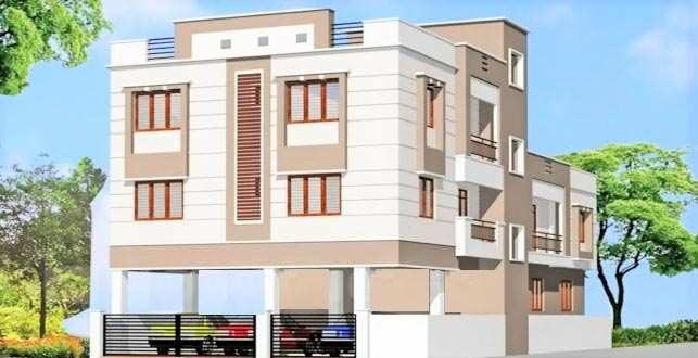 2 BHK Builder Floor for Sale in Perungudi, Chennai - 1173 Sq. Feet