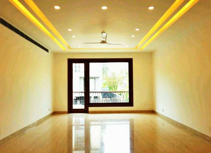 4 BHK Builder Floor for Rent in Panchsheel Park, South Delhi - 4500 Sq.ft.
