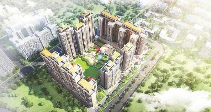 2 BHK Flats & Apartments for Sale in Gomti Nagar Extension, Lucknow - 1099 Sq. Feet