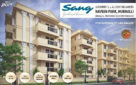 2 BHK 1058 Sq.ft. Residential Apartment for Sale in Keshwapur, Hubli