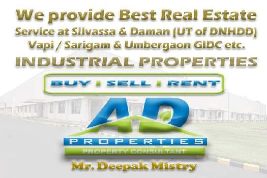 15000 Sq.ft. Factory for Rent in Umbergaon, Valsad